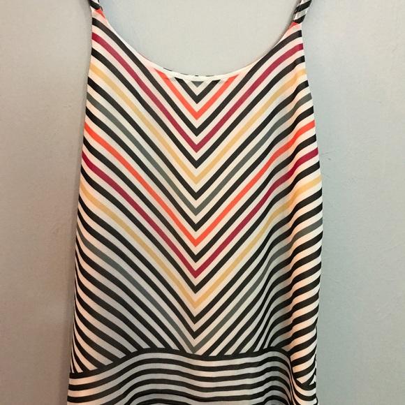 CAbi Tops - CAbi Linea striped cami